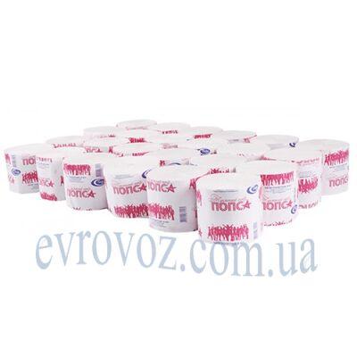 Туалетная бумага в рулоне Попса 50 м серая