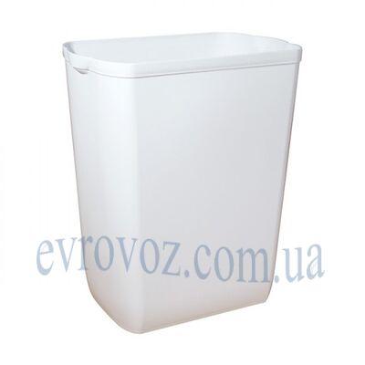 Корзина Престиж для мусора и бумажных полотенец 43л белая