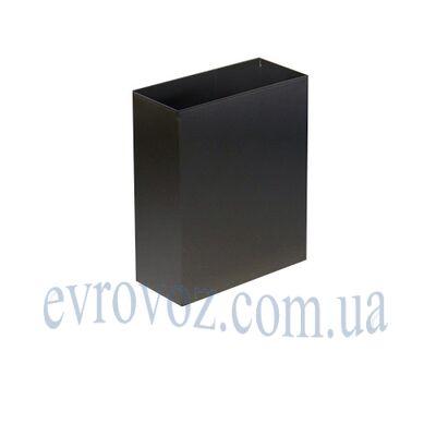 Урна для мусора 6л Линия-С черная
