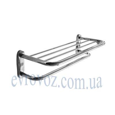 Полка-держатель полотенец металлическая