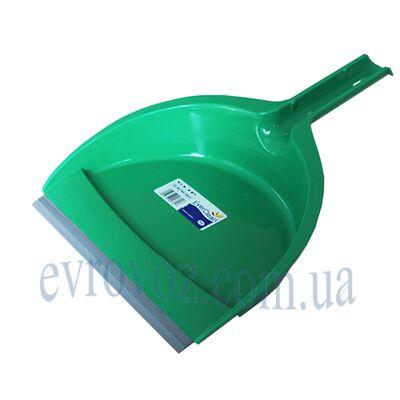 Совок для уборки Клип зеленый