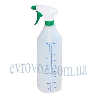 Бутылка с пульверизатором 1л зеленая