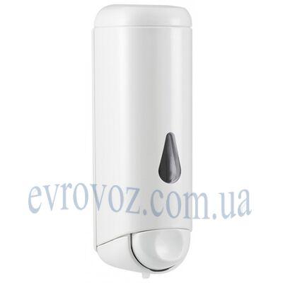 Дозатор жидкого мыла 0,25 л Аквалба белый