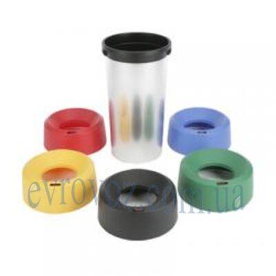 Контейнер для мусора, 50 л, пластиковый, Виледа Ирис