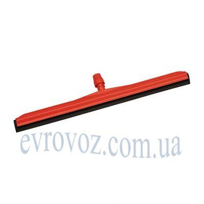 Скребок для сгона воды с пола полипропиленовый 45см красный
