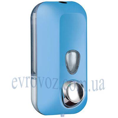 Дозатор жидкого мыла 0,55 л Колор голубой