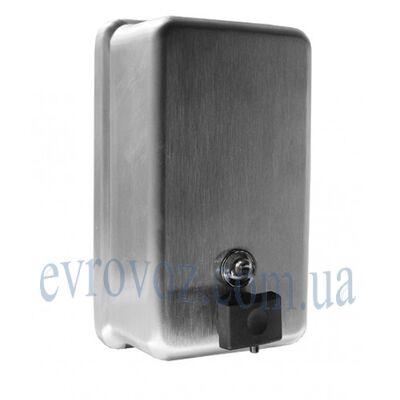 Дозатор жидкого мыла 1,1 л сатиноваянержавейка