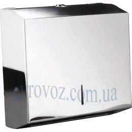 Держатель Inox для листовых бумажных полотенец ZZ сложения