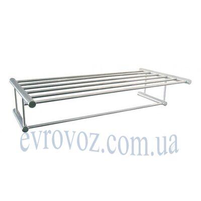 Полка-держатель полотенец металлическая Медин сатин