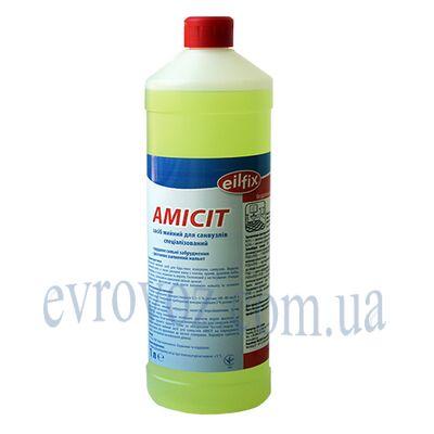 Универсальное моющее средство для санузлов Amicit 1л