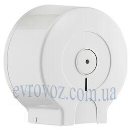 Держатель туалетной бумаги Джамбо Аквалба белый