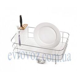 Подставка для посуды из нержавейки