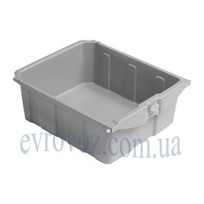 Ящик пластмассовый с замком для тележек Мэджик Хотел