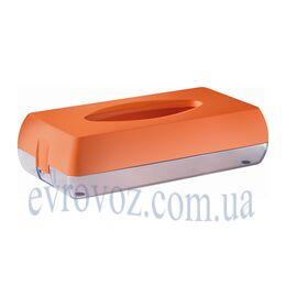 Держатель косметических салфеток Колор оранж