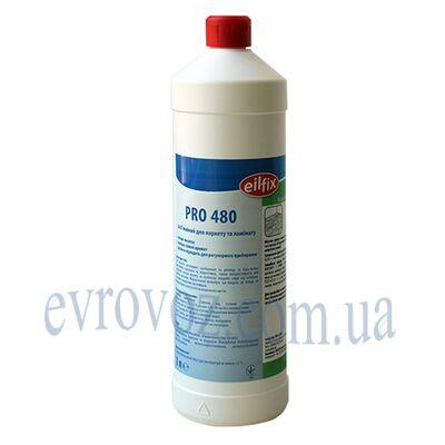 Моющее средство для ламината и паркета Pro-480 1л