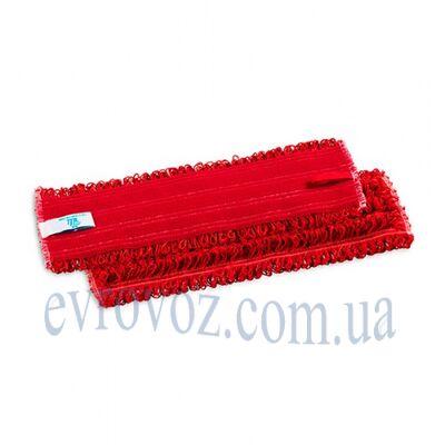 Моп Микрориччо Велкро микрофибра 40см красный