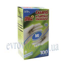 Перчатки латексные 100шт. Skin Protek