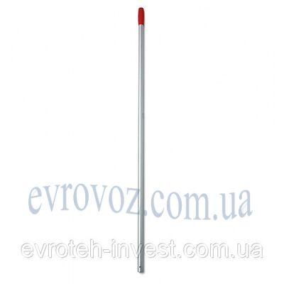 Алюминиевая ручка для швабры 140 см. красная