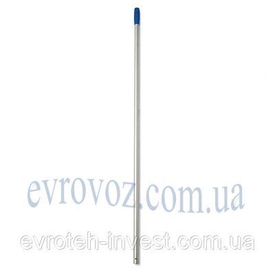 Алюминиевая ручка для швабры 140 см. синяя