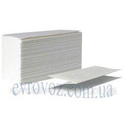 Бумажные полотенца 2 слоя сложения ZZ, Украина 24 пачки по 200 штук