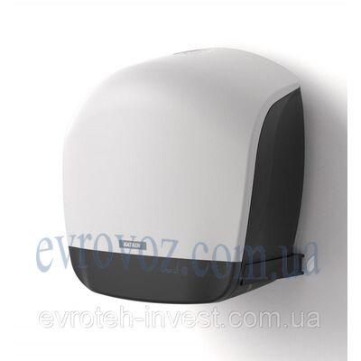Диспенсер для туалетной бумаги в рулонах белый