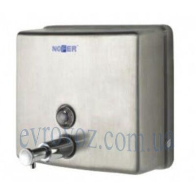 Дозатор квадратный для жидкого мыла Nofer матовый