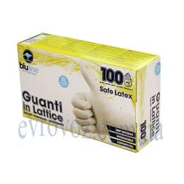 Перчатки латексные 100шт. Guanti in Lattice размер XL