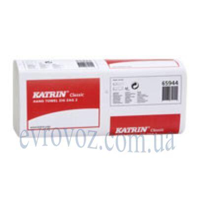 Листовые бумажные полотенца V-сложения Katrin Classic Zig Zag