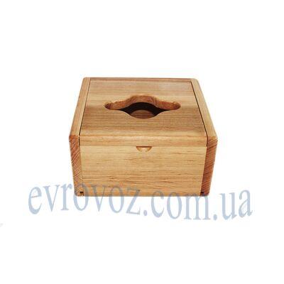 """Настольный диспенсер """"куб"""" для салфеток"""