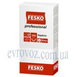 Салфетки Fesko Professional 33х33 двухслойные 250 листов
