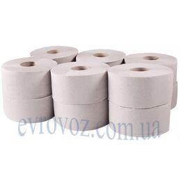 Туалетная бумага в рулоне Джамбо 135 м 1 слой