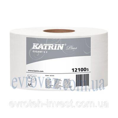 Туалетная бумага в рулоне джамбо Katrin Plus