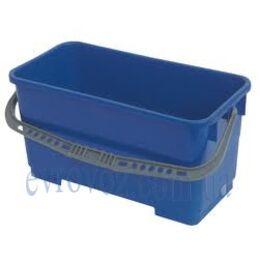Ведро 22 л. для итальянской уборочной тележки синее