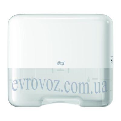 Диспенсер для листовых полотенец сложения ZZ V белый