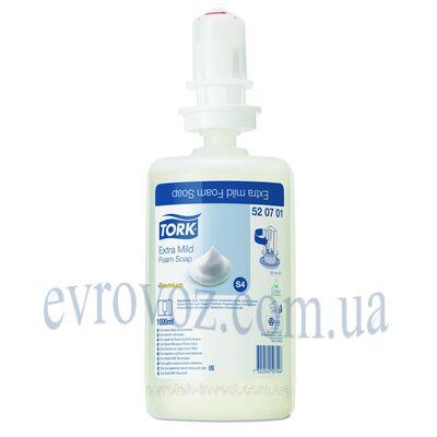 Ультра-мягкое мыло-пена без запаха и без цвета Tork Premium