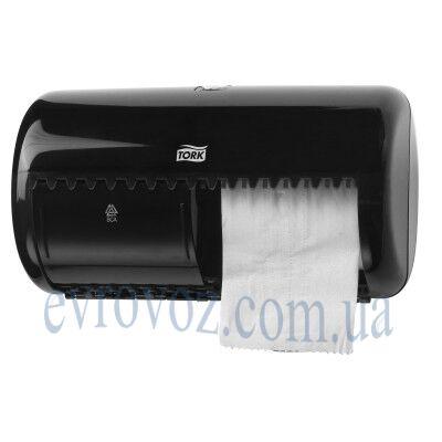 Диспенсер для туалетной бумаги в стандартных рулонах чёрный Tork