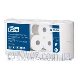 Т/бумага в стандартных рулонах Tork Advanced 8 рулонов