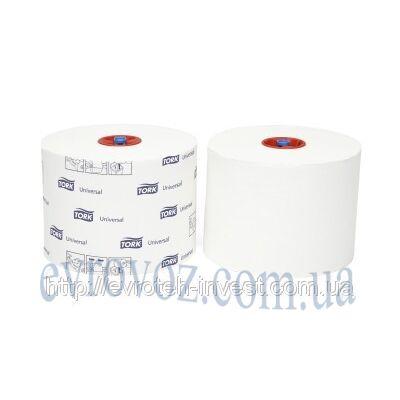 Туалетная бумага Mid-size в миди рулонах Tork Universal