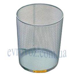 Ажурная корзина для бумаг 15 литров белая