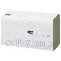 Tork листовые полотенца сложения Singlefold зеленые категория качества Advanced