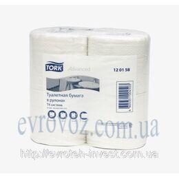 Т/бумага в стандартных рулонах Tork Advanced
